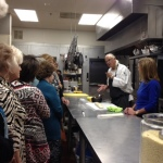 Chef Andrew Huszar Cooks Flaky Pastry for November Meeting