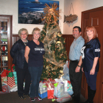 Gifts from Ernie's Tree Make Holidays Brighter for SafeHaven Kids!