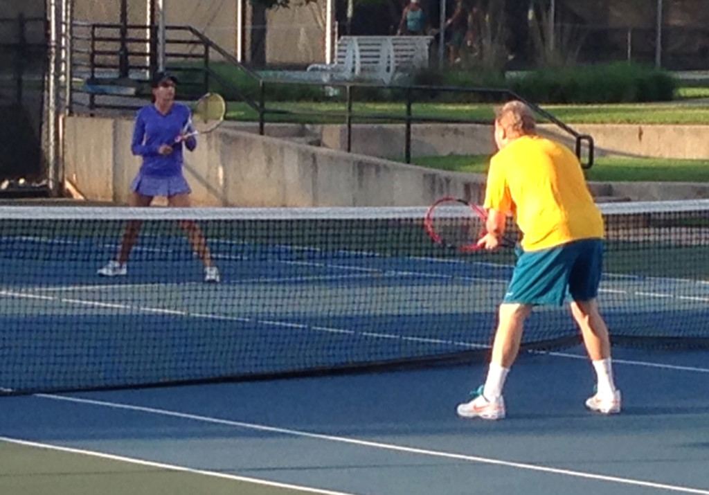 Mixed Doubles Tennis 2015