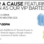 Happy Hour – Featuring David Harmon as our VIP Bartender