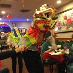 "Chinese New Year ""Lion"" Collects Donations for SafeHaven"