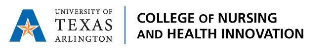 UTA College of Nursing & Health Innovation logo