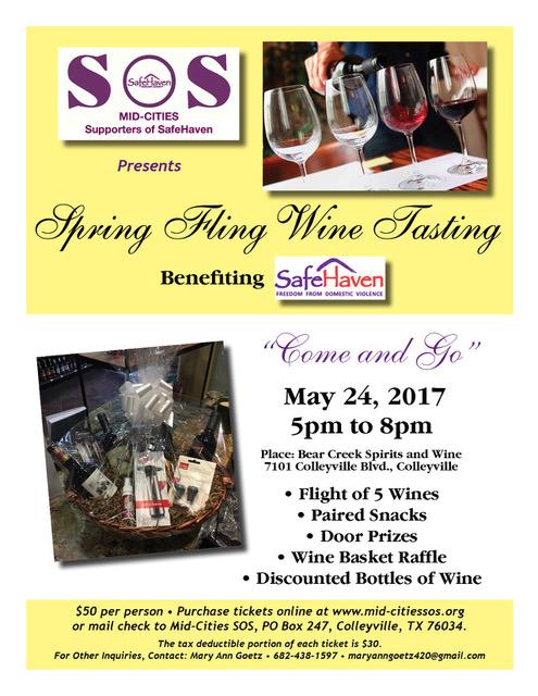 Spring Fling Wine Tasting